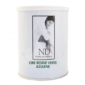 CIRE - POT - JETABLE - AVEC - BANDE - ND5532 - RESINE - VERTE - AZULENE - GROSSISTE - ESTHETIQUE - LYSOR - LIANE