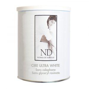CIRE - POT - JETABLE - AVEC - BANDE - ND914 - CIRE - ULTRA - WHITE - MAGNOLIA - GROSSISTE - ESTHETIQUE - LYSOR - LIANE