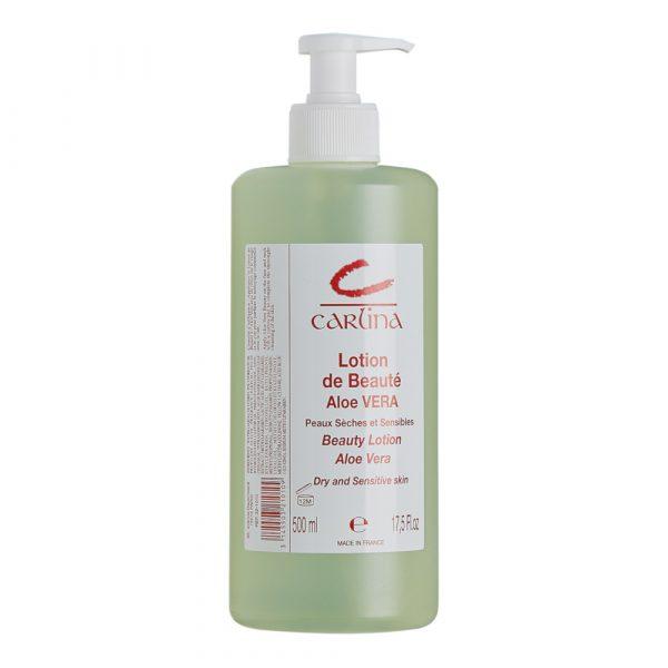 CARLINA - PA32101 - LOTION - DE - BEAUTE - ALOE - VERA - PEAUX - SECHES - GROSSISTE - ESTHETIQUE - LYSOR - LIANE