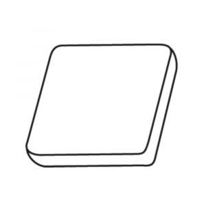 LIGNE - K - LK610 - COUSSIN - MANUCURE - PLAT - BLANC - GROSSISTE - ESTHETIQUE - LYSOR - LIANE