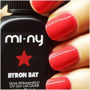 MANUCURE - MI-NY - NMBYRON-BAY - BYRON - BAY - VERNIS - SEMI - PERMANENT - GROSSISTE - ESTHETIQUE - LYSOR - LIANE
