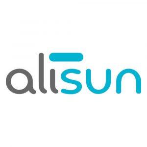 Alisun - logo - SOLARIUM - GROSSISTE - ESTHETIQUE - LYSOR - LIANE