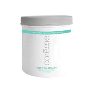 COREME - SOINS - CORPS - COR51720500 - EXFO - SILHOUET - GOMMAGE - 500ML - GROSSISTE - ESTHETIQUE - LYSOR - LIANE