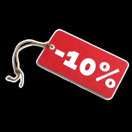 etiquette 10%